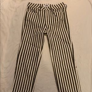 Paige denim striped jeans